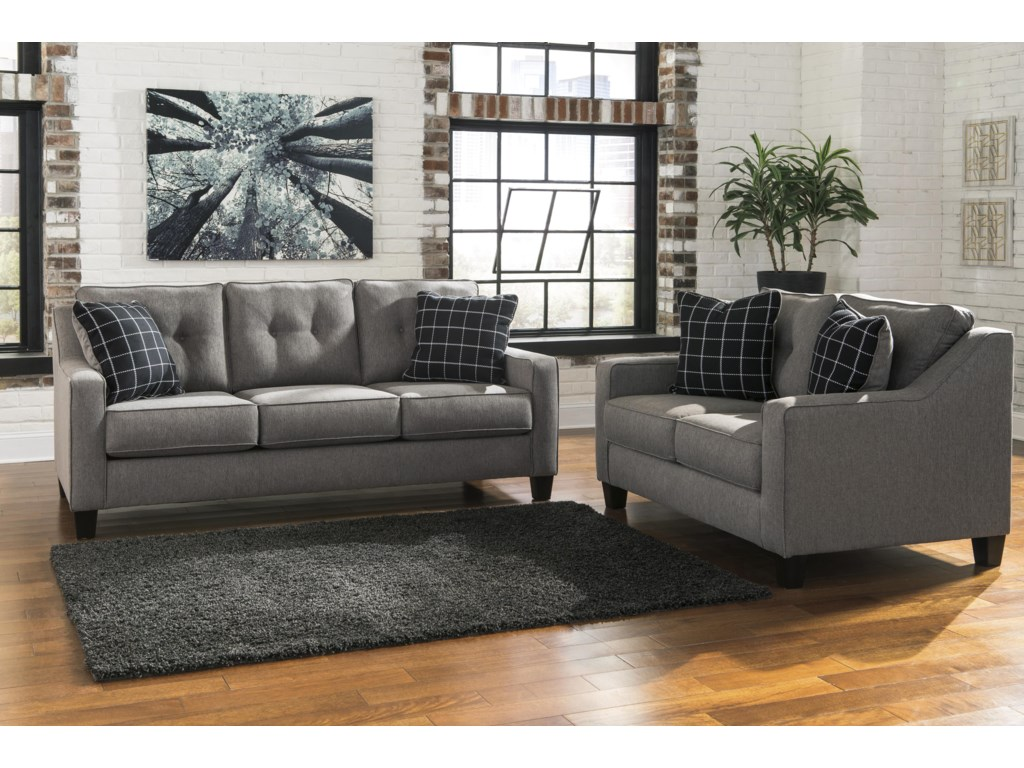 Signature Design By Ashley BrindonQueen Sofa Sleeper