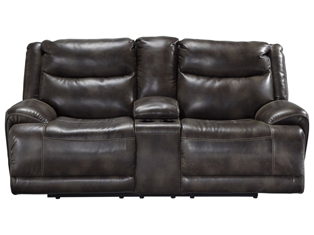 Benchcraft BrinlackPower Reclining Loveseat