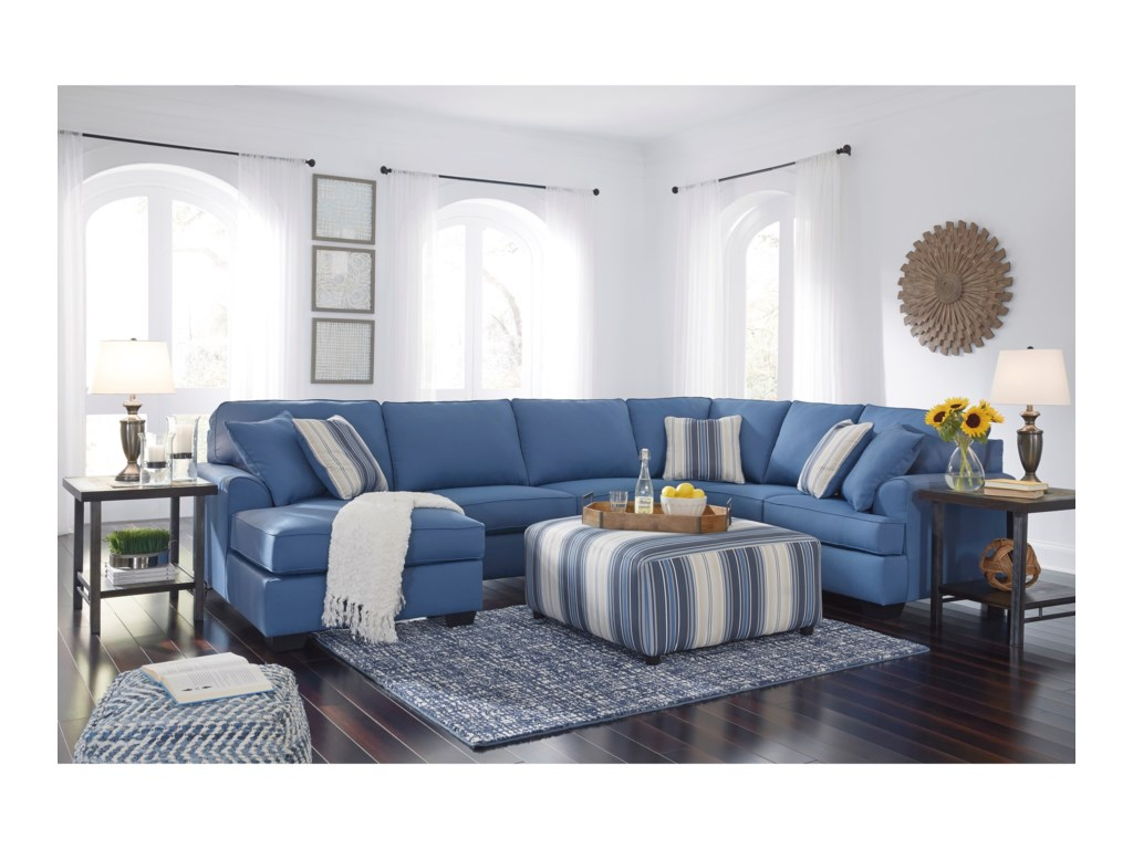 Benchcraft Brioni NuvellaStationary Living Room Group