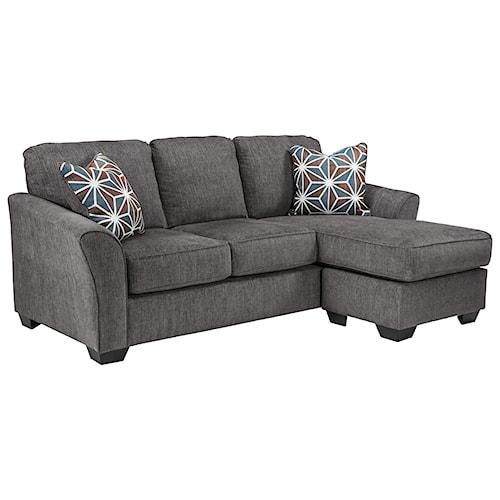 Benchcraft Brise Casual Contemporary Sofa Chaise