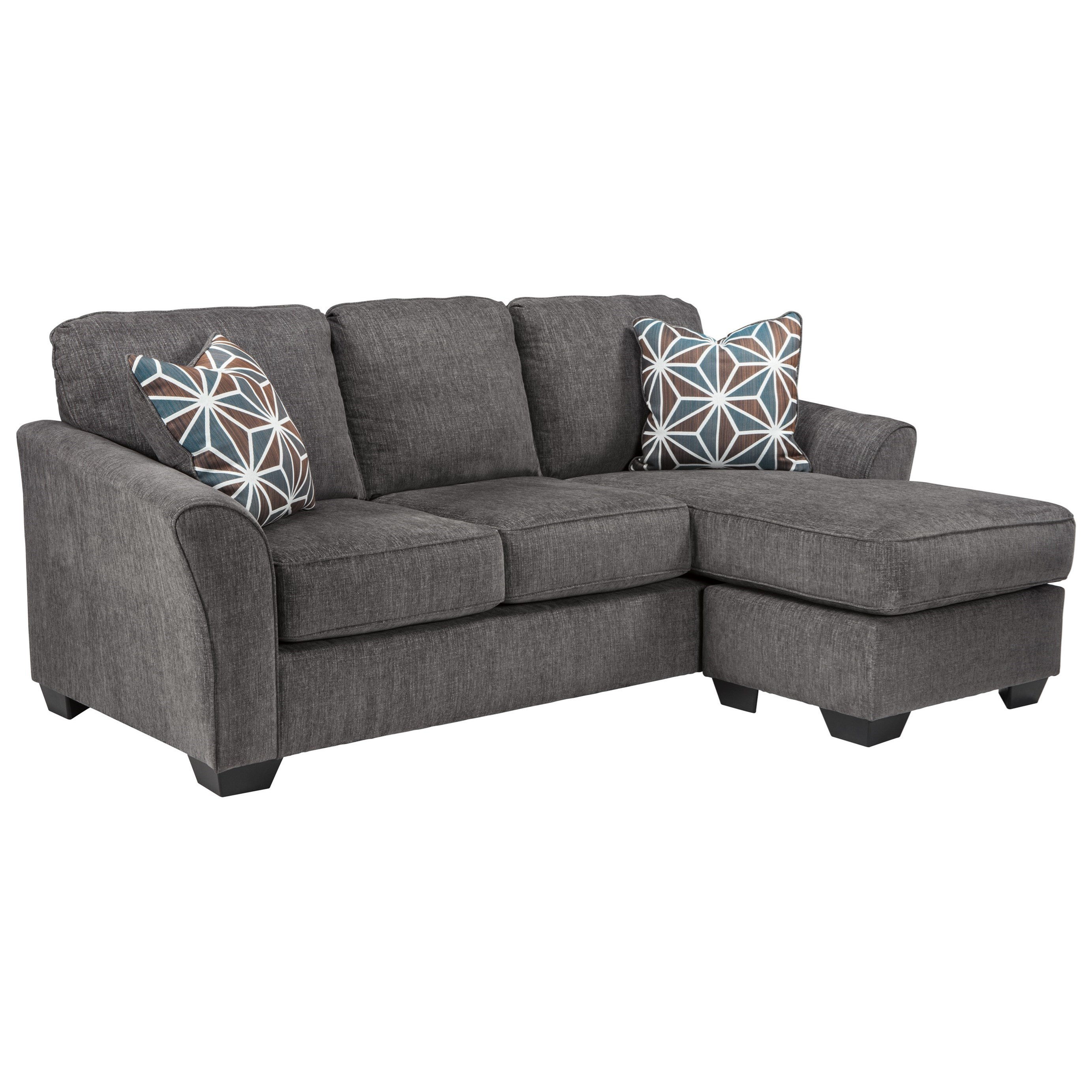 - Benchcraft Brise Casual Contemporary Queen Sofa Chaise Sleeper
