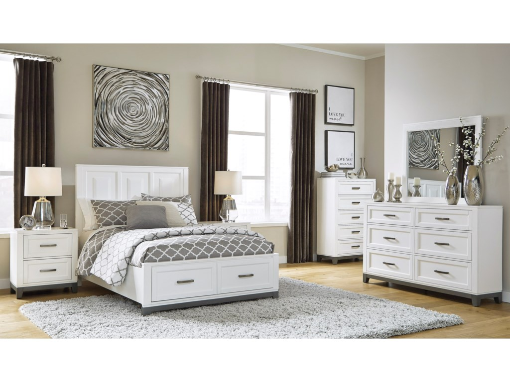 Benchcraft By Ashley Brynburg Full Bedroom Group Royal Furniture Bedroom Groups