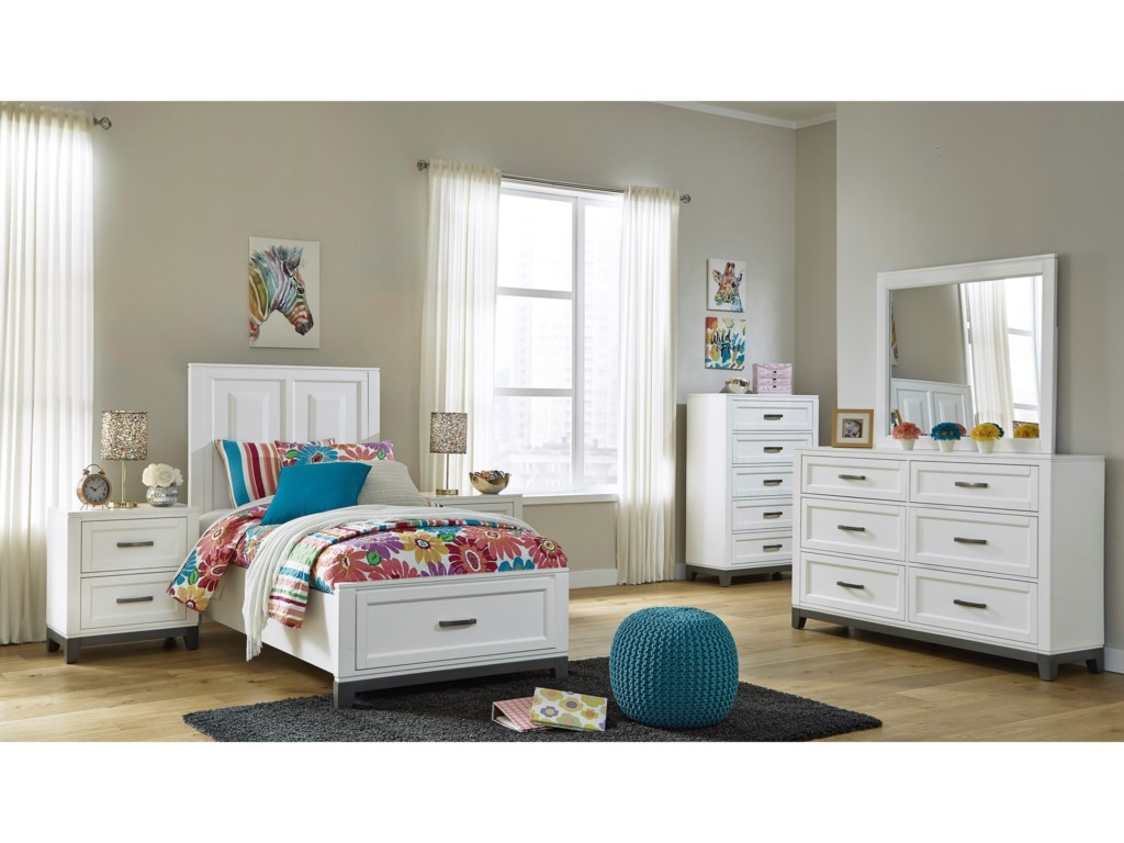 Benchcraft by Ashley BrynburgTwin Bedroom Group