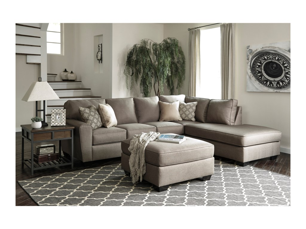 Ashley CalichoSectional with Right Chaise