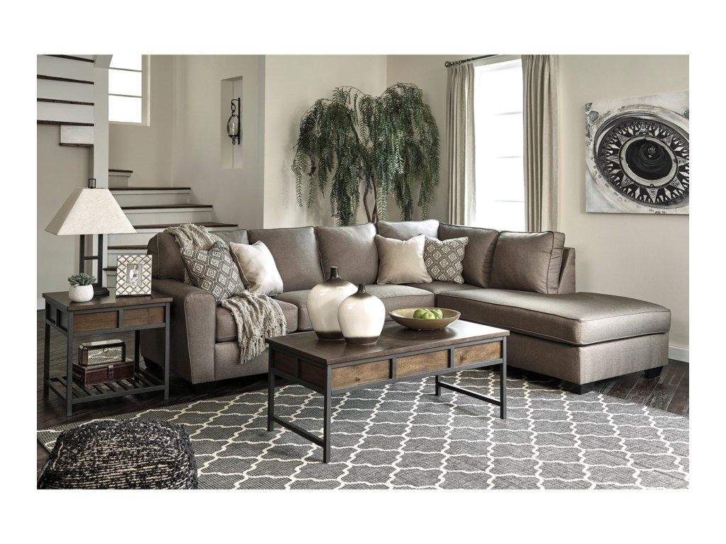 Signature Design By Ashley CalichoSectional with Right Chaise