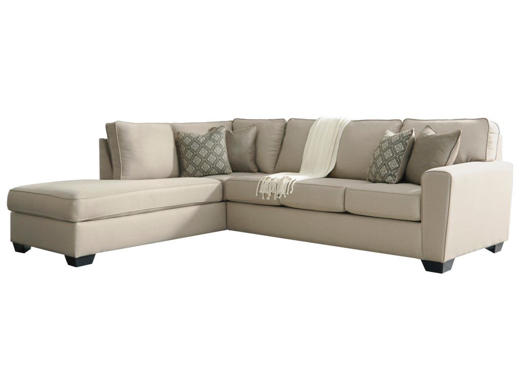 Benchcraft CalichoSectional with Left Chaise