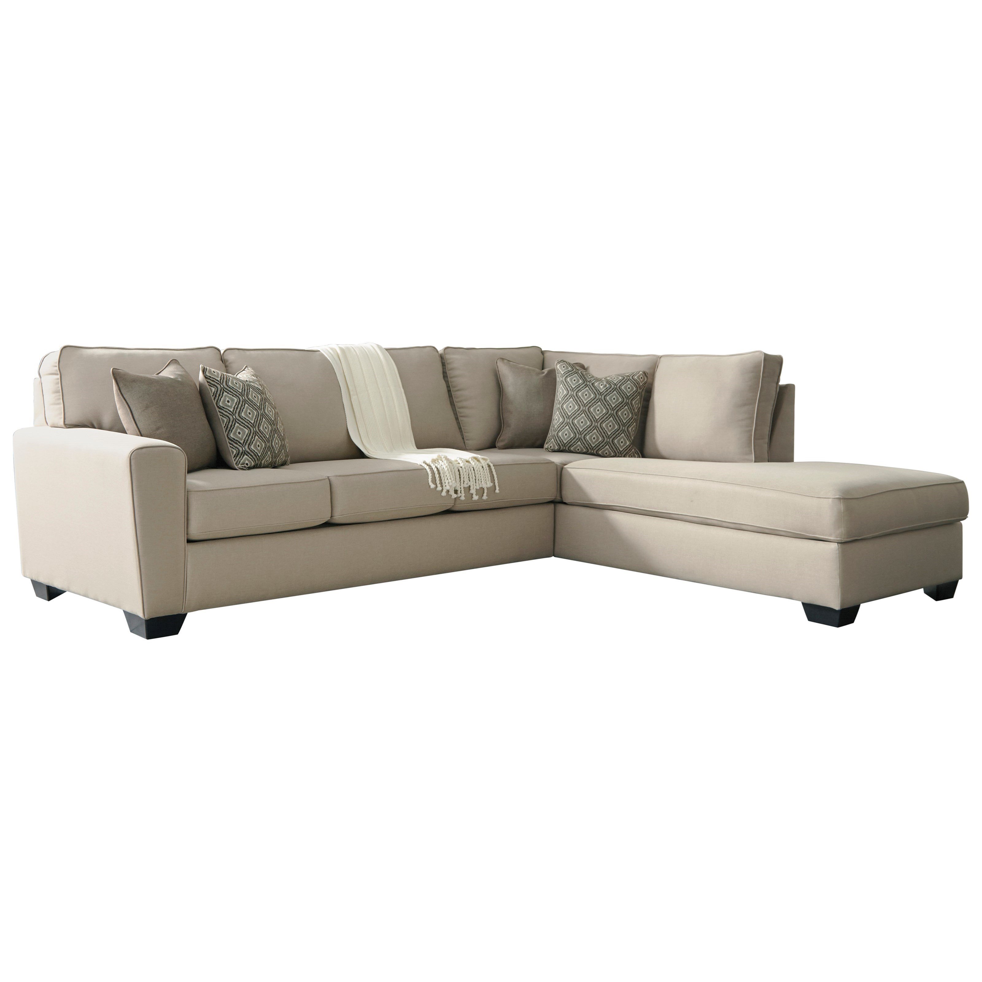 Benchcraft By Ashley CalichoSectional With Right Chaise ...