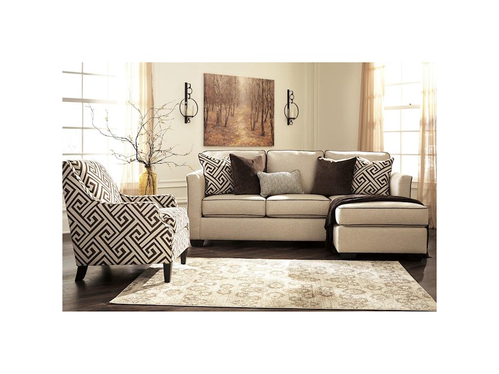Benchcraft CarlinworthStationary Living Room Group