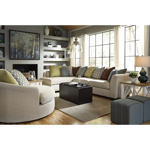 Benchcraft Casheral Stationary Living Room Group