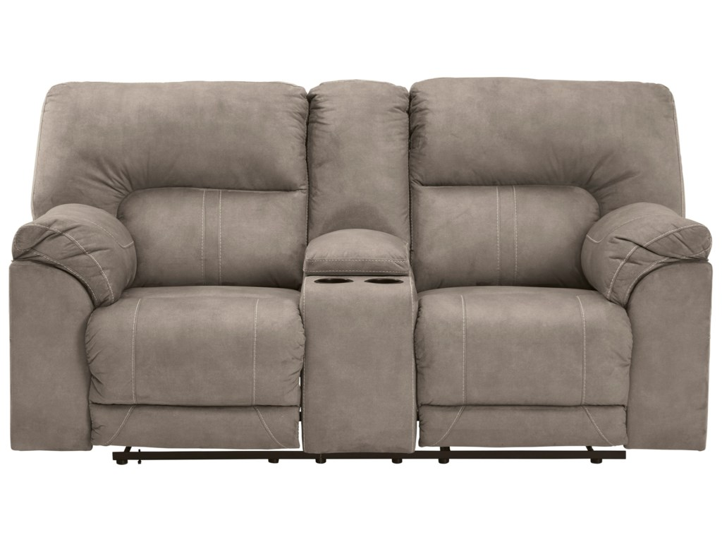 Benchcraft by Ashley CavalcadeDouble Reclining Loveseat with Console