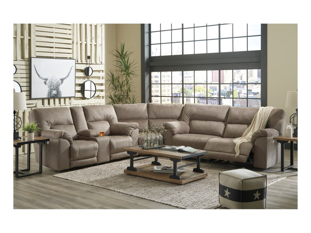 Benchcraft by Ashley CavalcadePower Reclining Sectional