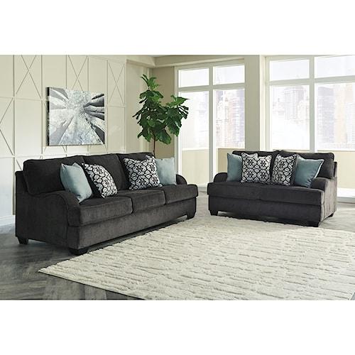 Benchcraft Charenton Stationary Living Room Group