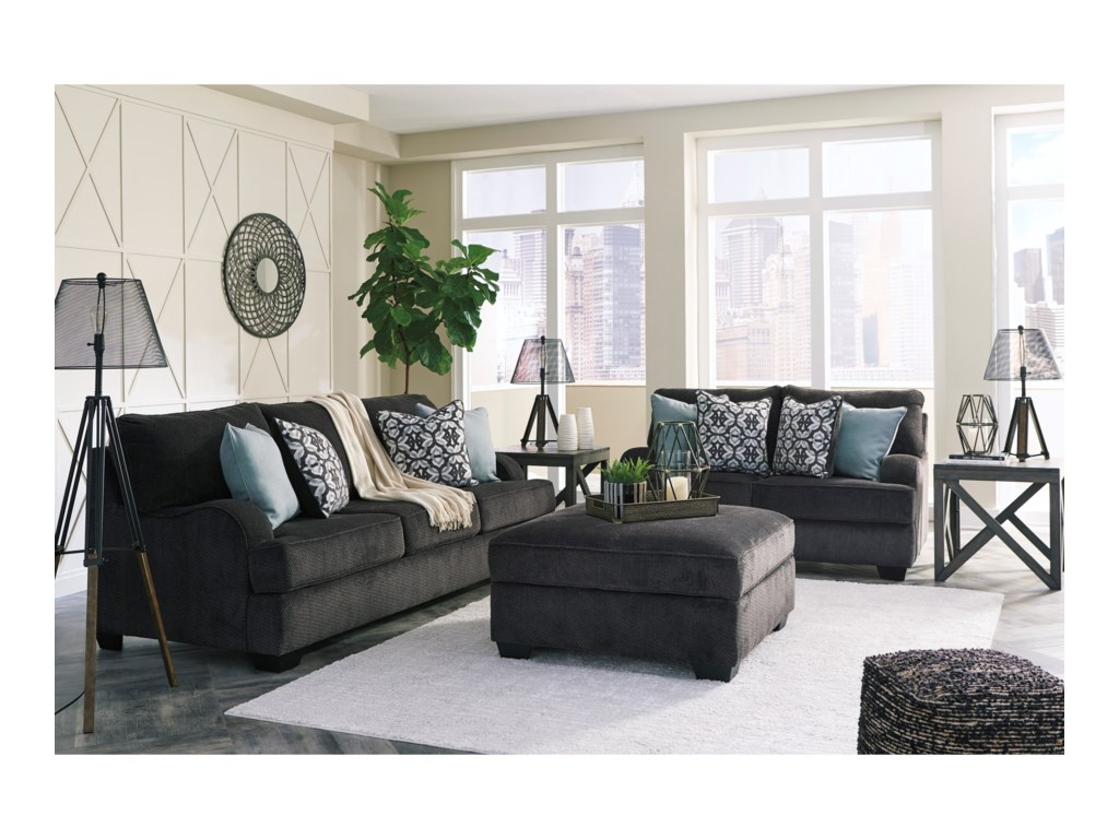 Signature Design By Ashley CharentonStationary Living Room Group