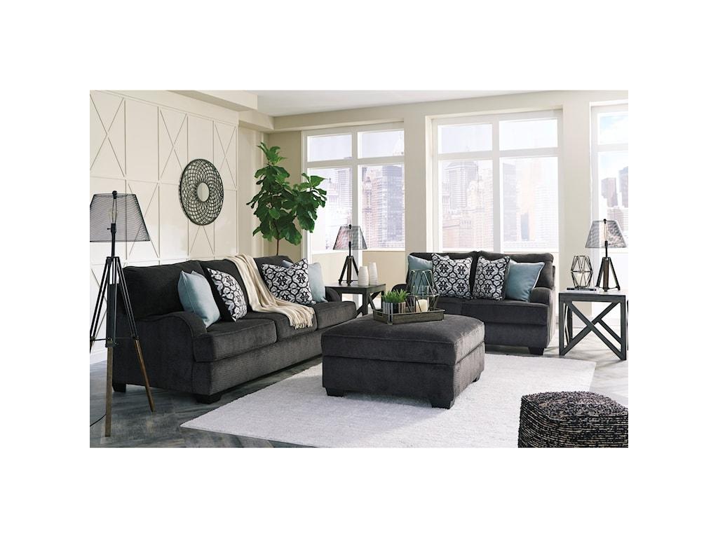 Benchcraft CharentonStationary Living Room Group