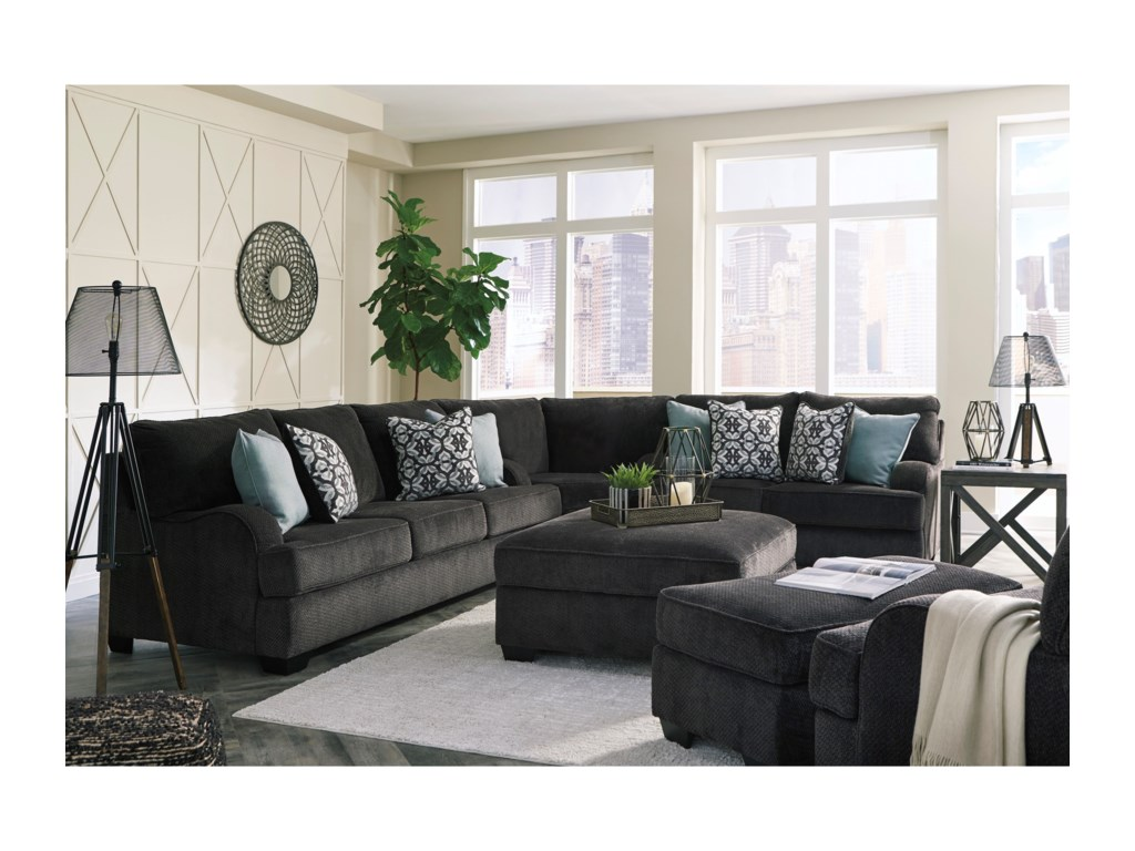 Signature Design By Ashley CharentonOttoman with Storage