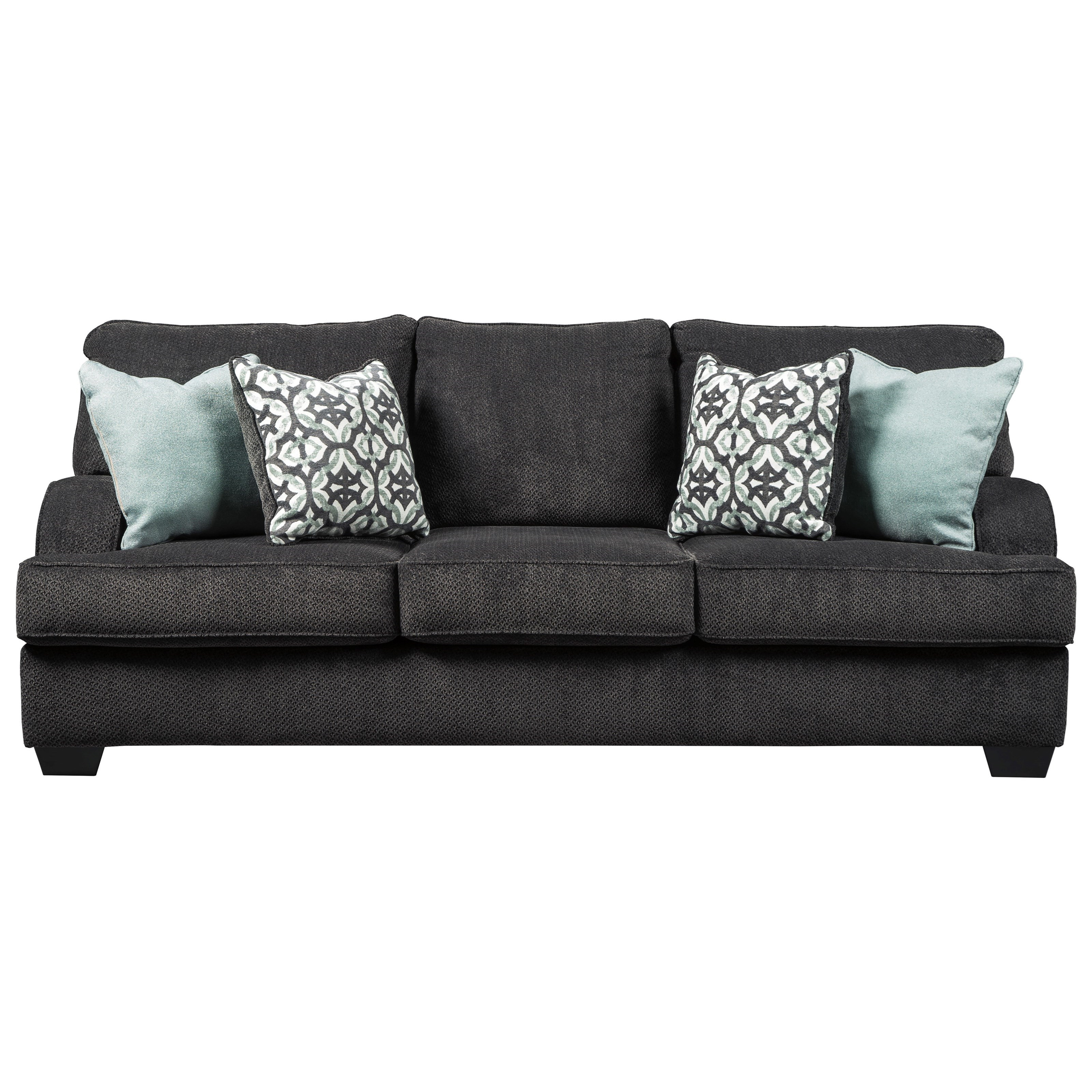 benchcraft by ashley charenton queen sofa sleeper with english arms rh royalfurniture com ashley sleeper sofa queen ashley sleeper sofas reviews