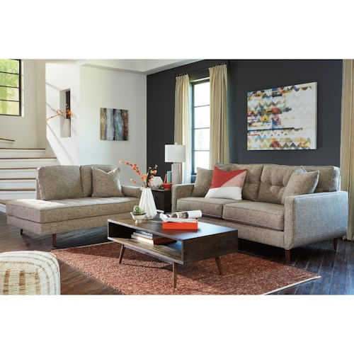Benchcraft Dahra Stationary Living Room Group