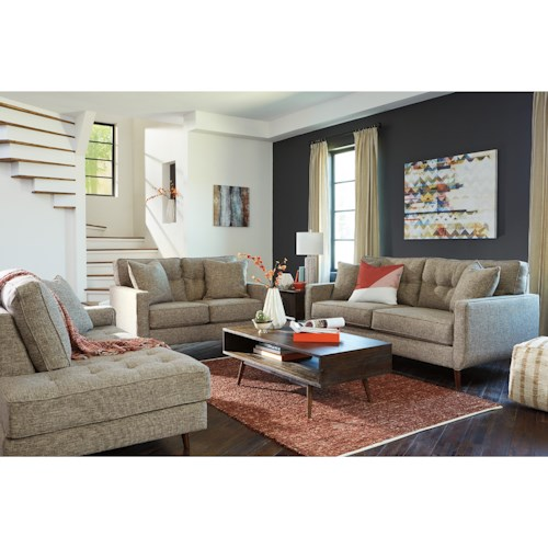 Benchcraft Dahra Stationary Living Room Group