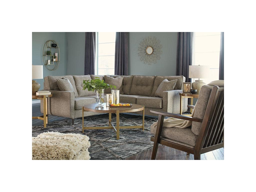 Benchcraft DahraStationary Living Room Group