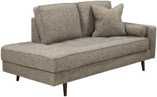 grey with couch l tufted fabric modern sofa century lounge mid light extra sectional bed shape wide contemporary chaise