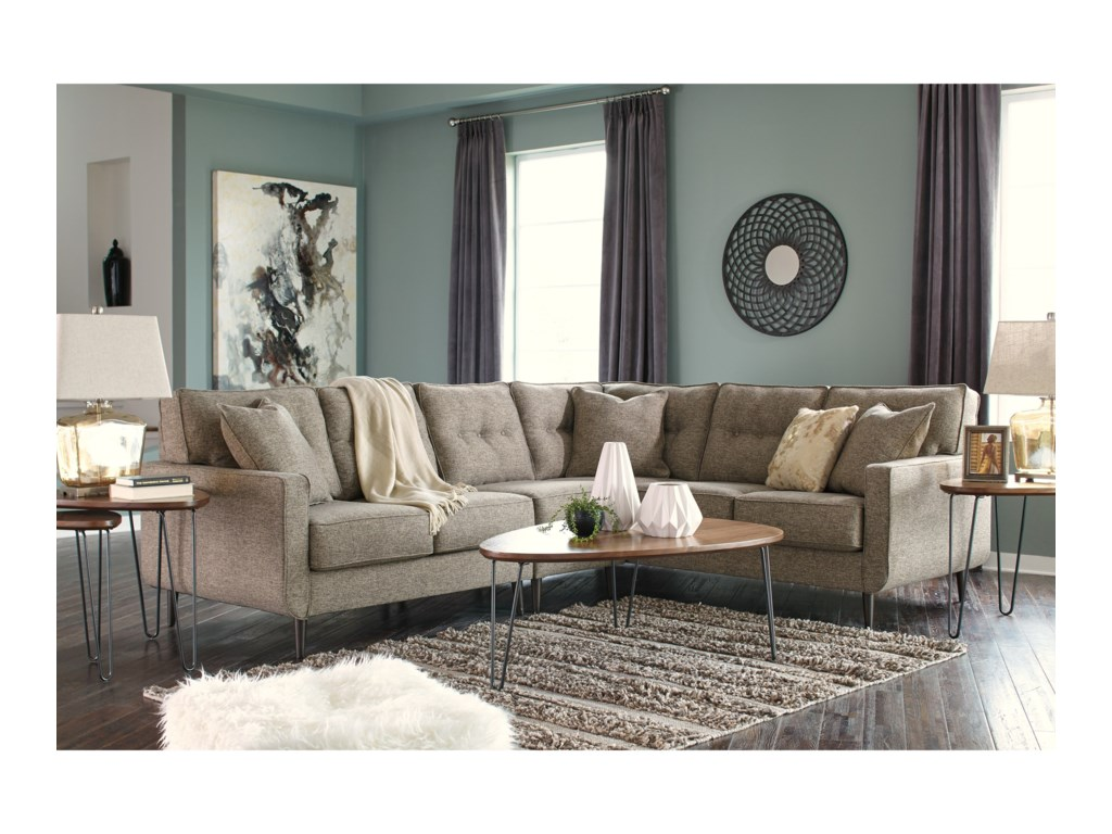 Signature Design By Ashley Dahra3-Piece Sectional