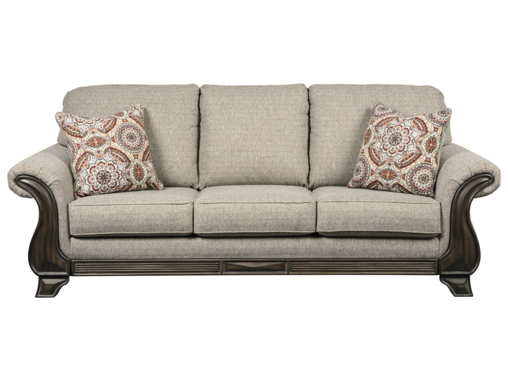 Benchcraft Sofa Ashley Furniture Danely Dusk Sofa Chaise
