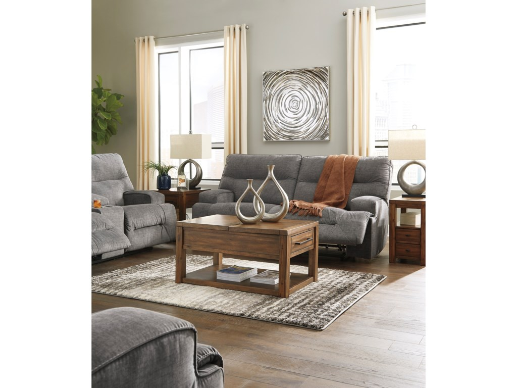 Benchcraft CoombsReclining Living Room Group