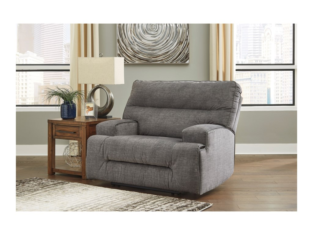 Benchcraft CoombsWide Seat Recliner