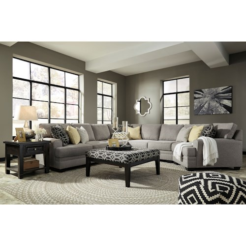 Benchcraft Cresson Stationary Living Room Group