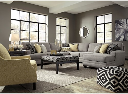 Benchcraft by Ashley Cresson Stationary Living Room Group
