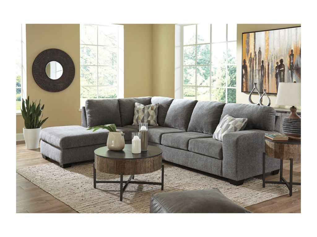 Benchcraft by Ashley Dalhart2-Piece Sectional
