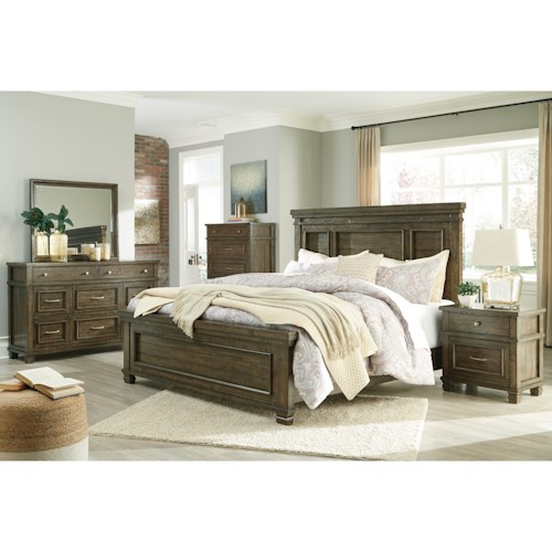 Benchcraft Darloni Queen Bedroom Group