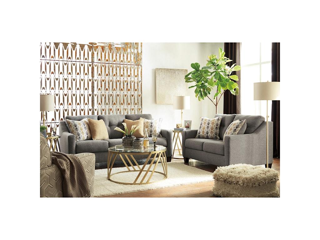 Benchcraft Daylon Stationary Living Room Group | Beck\'s Furniture ...