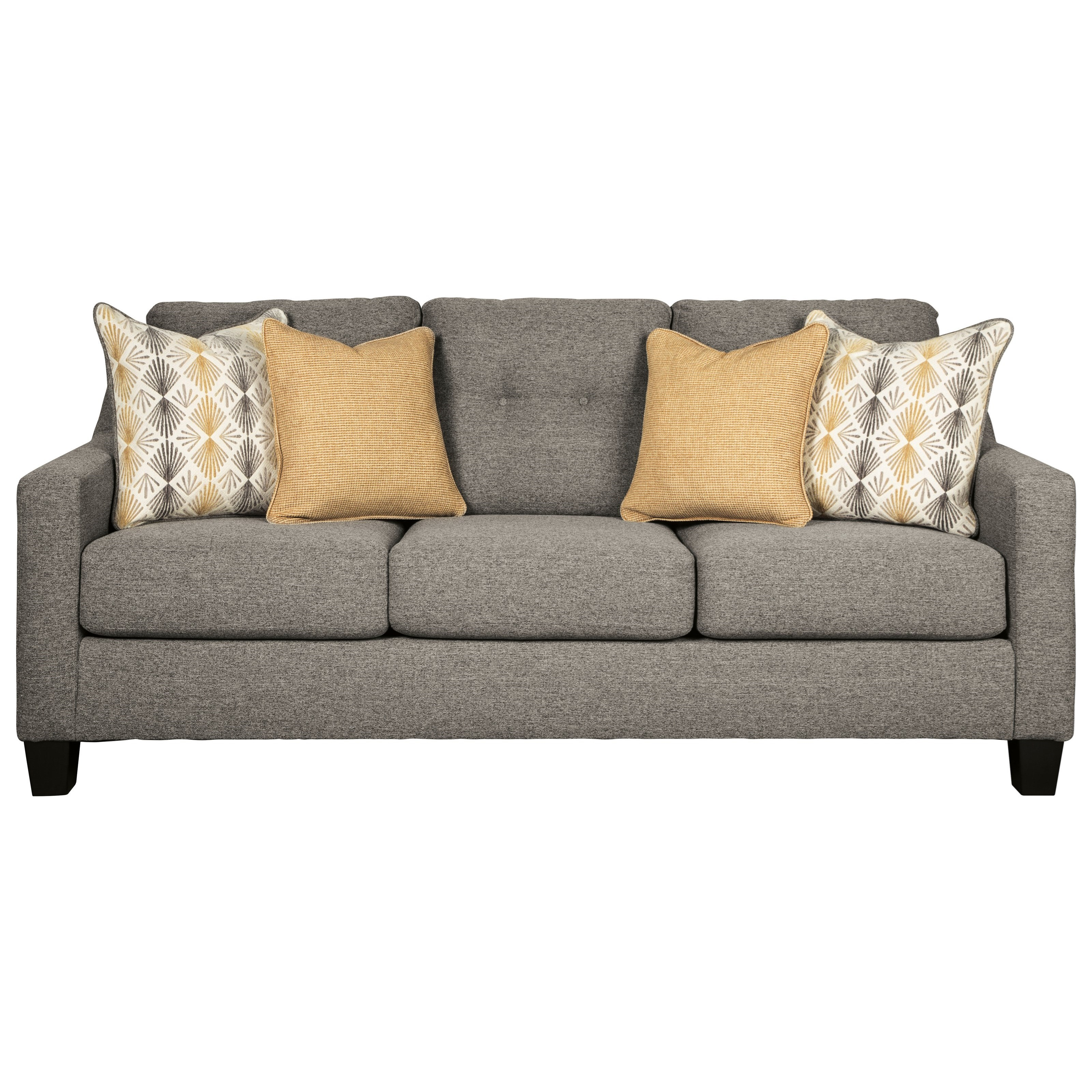 Benchcraft Daylon Contemporary Sofa With Tufted Back