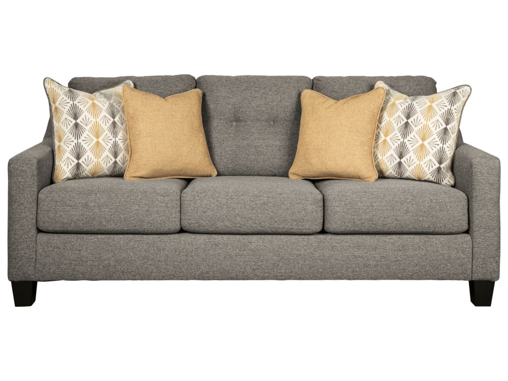 Daylon Contemporary Queen Sofa Sleeper with Tufted Back by Benchcraft at  Household Furniture