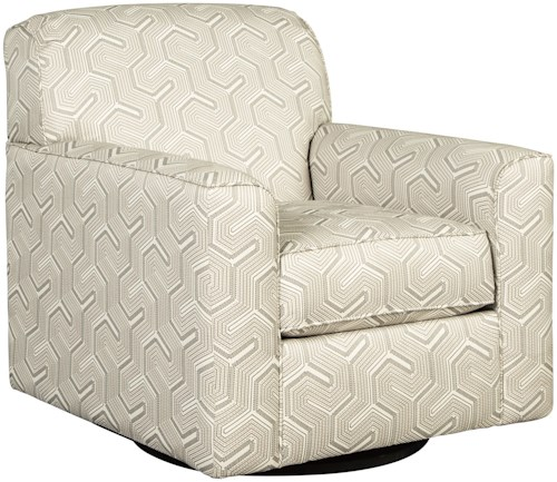 Benchcraft Daylon Contemporary Swivel Accent Chair