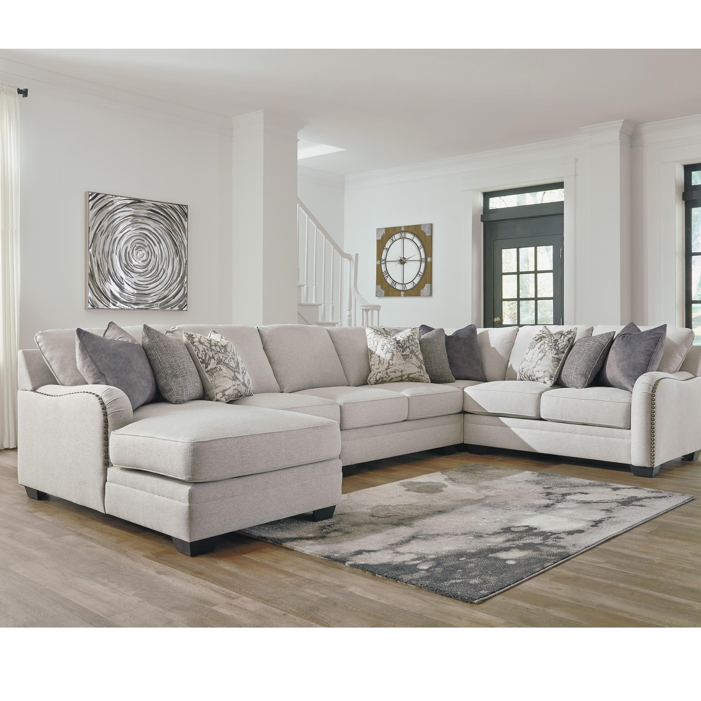 Benchcraft By Ashley Dellara5 Piece Sectional ...