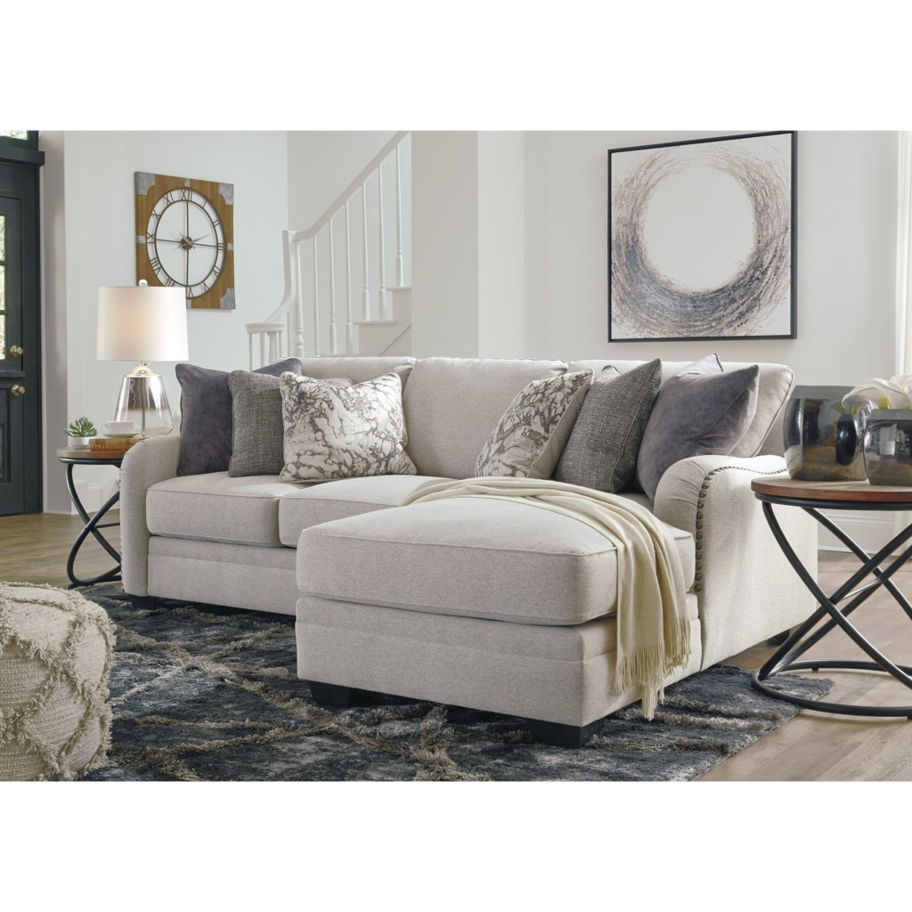 Dellara Casual 2 Piece Sectional With Right Chaise Becker