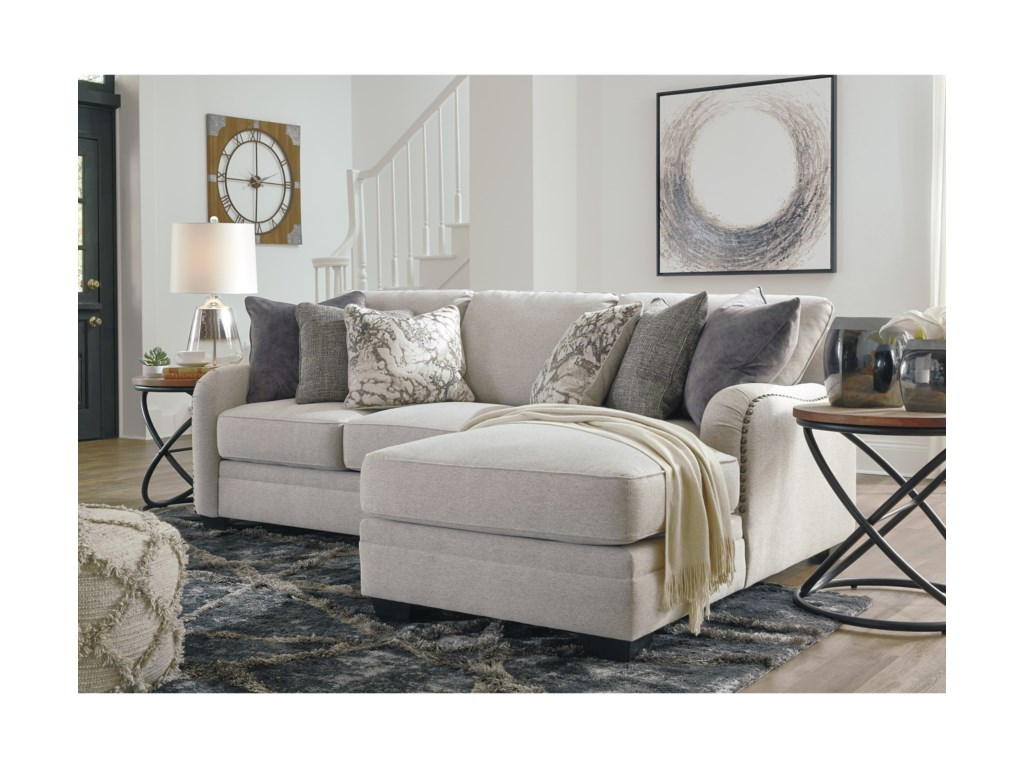 Dellara Casual 2-Piece Sectional with Right Chaise | Becker ...