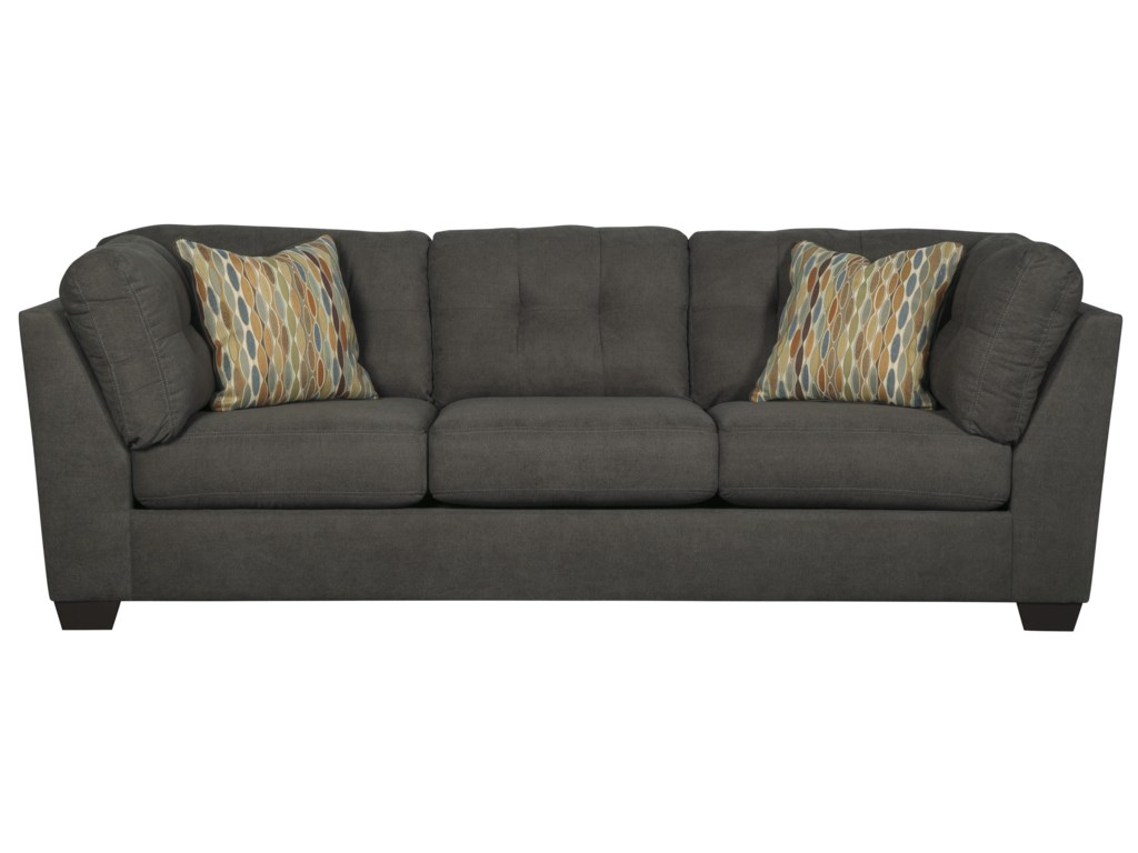 Benchcraft Delta City - Steel3-Piece Modular Sectional with Left Chaise