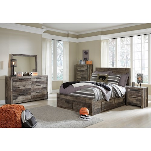 Benchcraft Derekson Full Bedroom Group