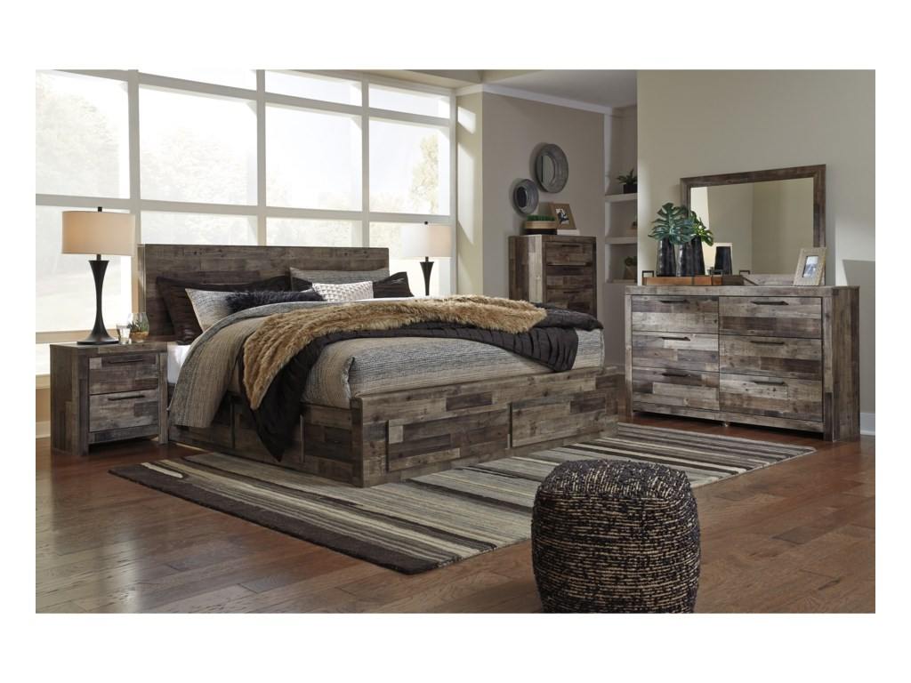 Signature Design By Ashley DereksonKing Bedroom Group