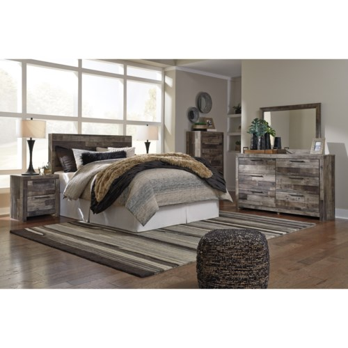 benchcraft derekson twin bedroom group   aladdin home store