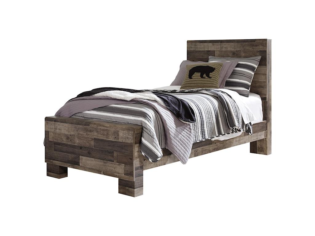 Benchcraft DereksonTwin Panel Bed