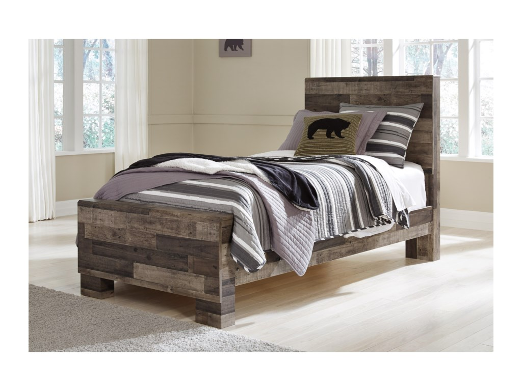 Benchcraft DereksonTwin Panel Bed
