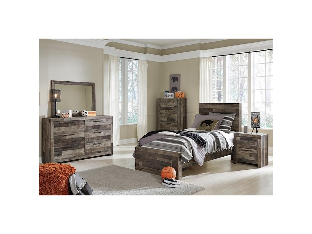 Benchcraft DereksonTwin Storage Bed