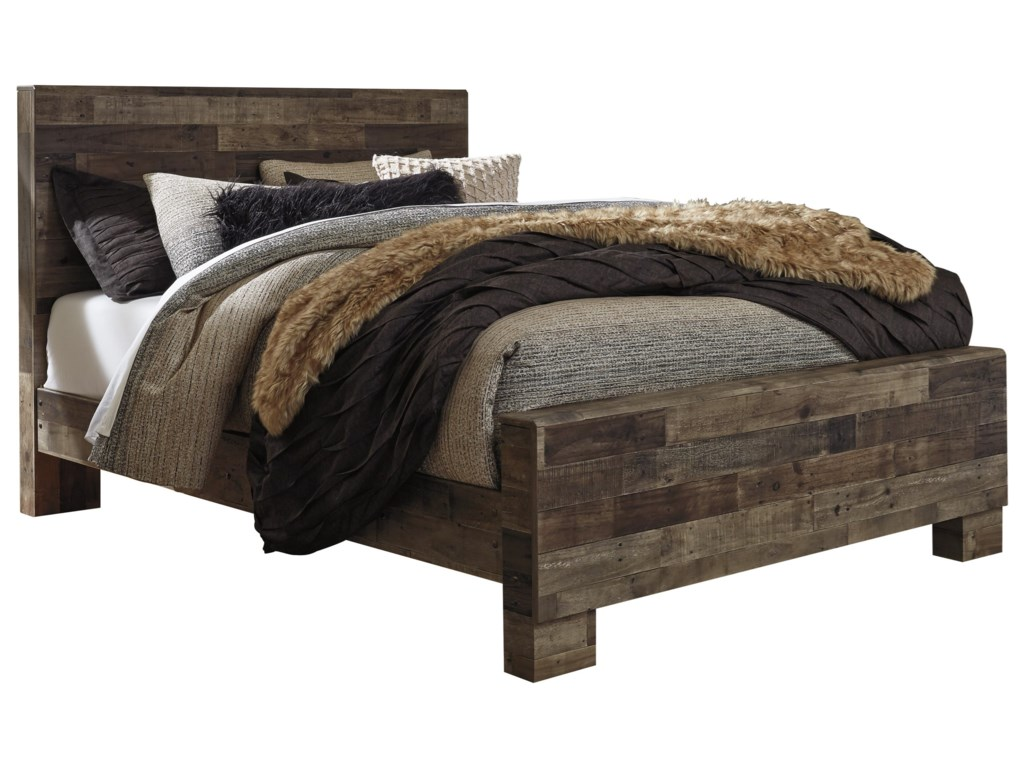 Benchcraft DereksonQueen Panel Bed