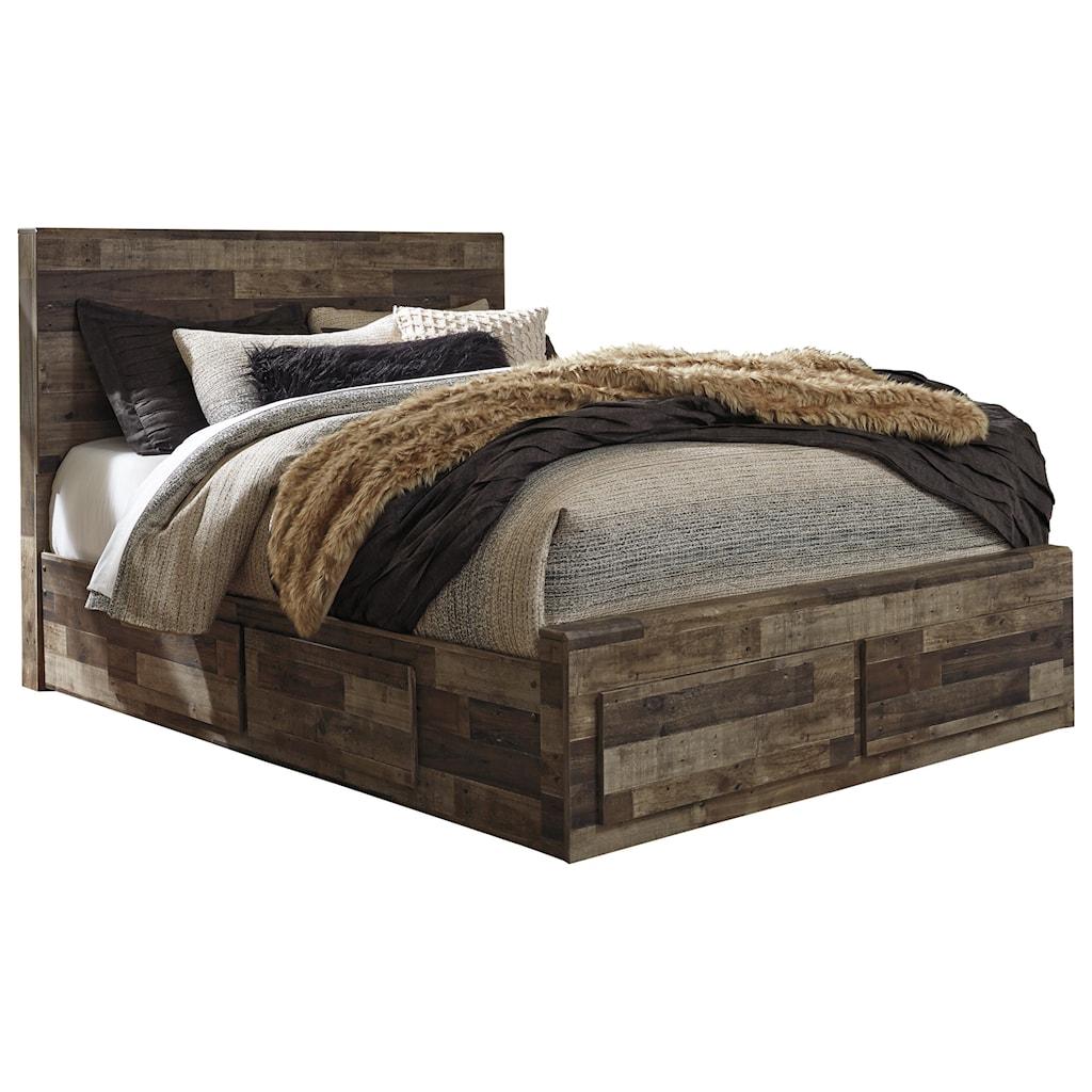 Benchcraft By Ashley Dereksonqueen Storage Bed With 6 Drawers