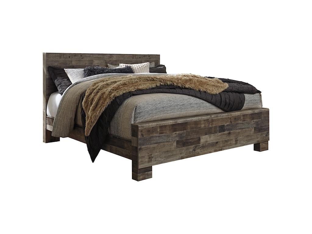 Benchcraft DereksonKing Panel Bed