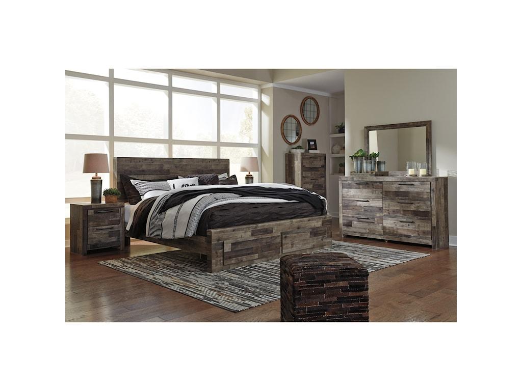 Benchcraft DereksonKing Storage Bed